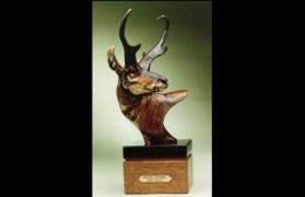 """Prairie Sentinel"" Bronze Sculpture by Vince Valdez WANTED"