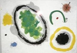 """La Creation"" Lithograph by Joan Miro"