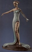 """La Merveilleuse"" 1982 Bronze Sculpture by Erte"