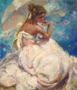 """Verano"" Original Oil on Canvas by Royo"