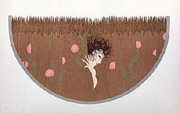 """""""The Storm"""" from the """"Storm and Harvest Stuite"""" by Erte"""