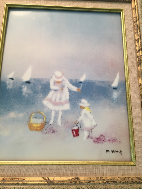 """""""Summer"""" From the """"Four Seasons"""" Porcelain prints by Max Karp"""