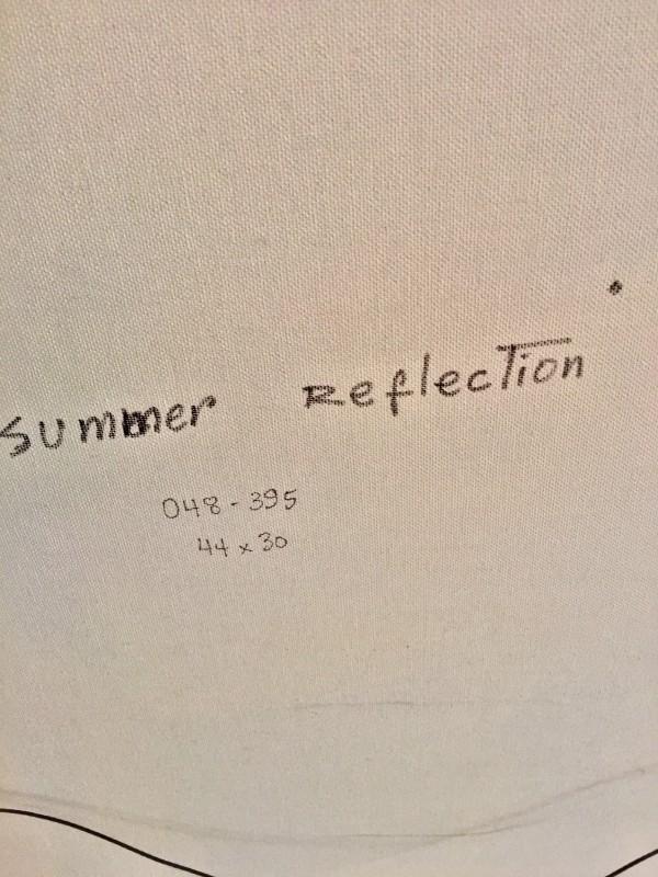 """Summer Reflection"""