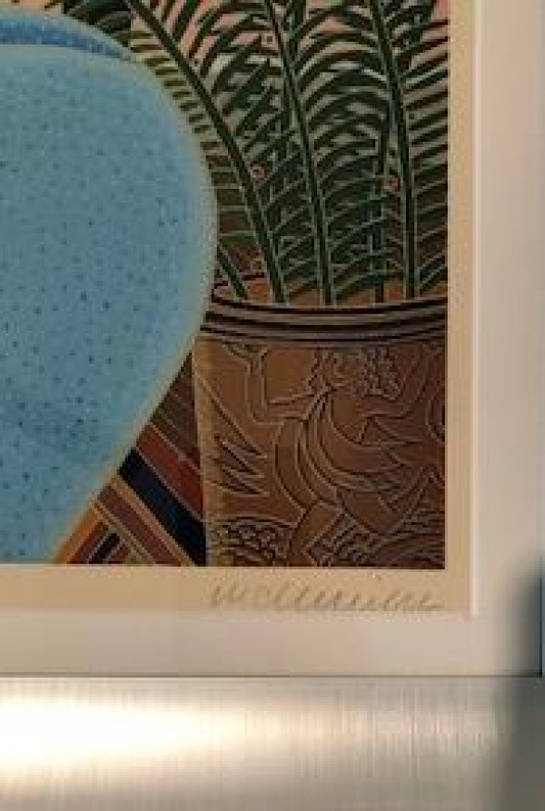 """Coconut Grove"" Serigraph by Thomas McKnight"