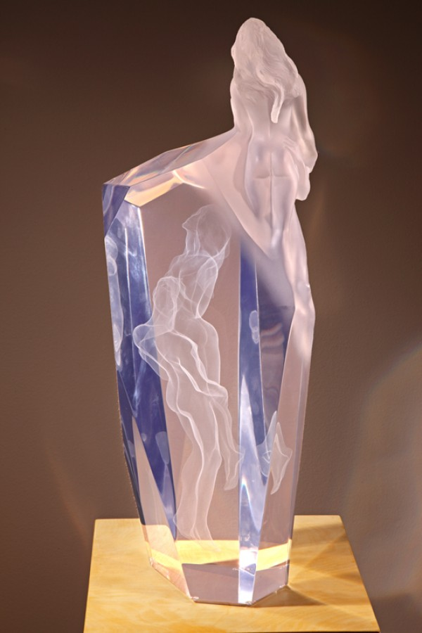 """Dance Of Life"" Acrylic Sculpture by Frederick Hart"