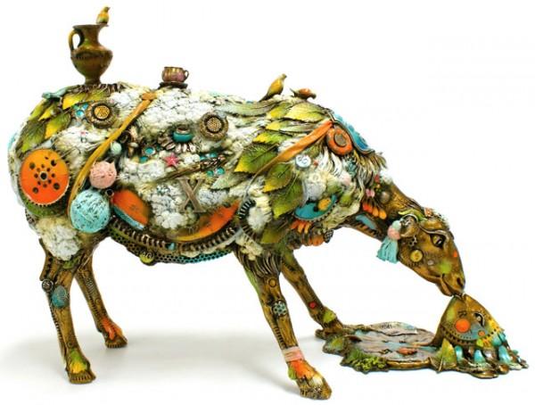 "1 ""Alberta"" Large bronze sculpture by Nano Lopez."