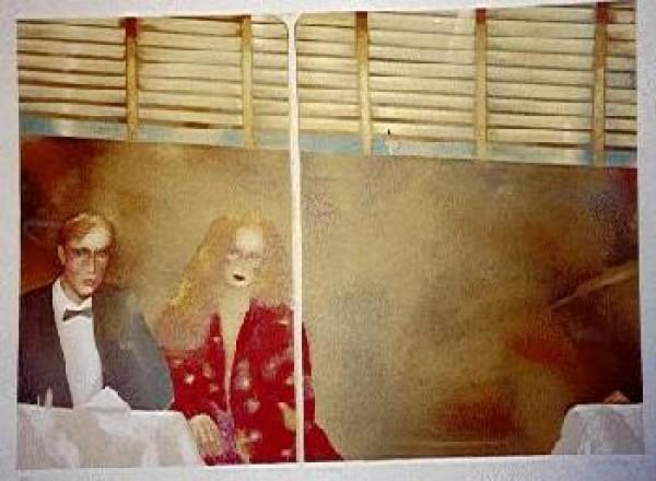 """Windows"" Lithograph by Joanna Zjawinska"