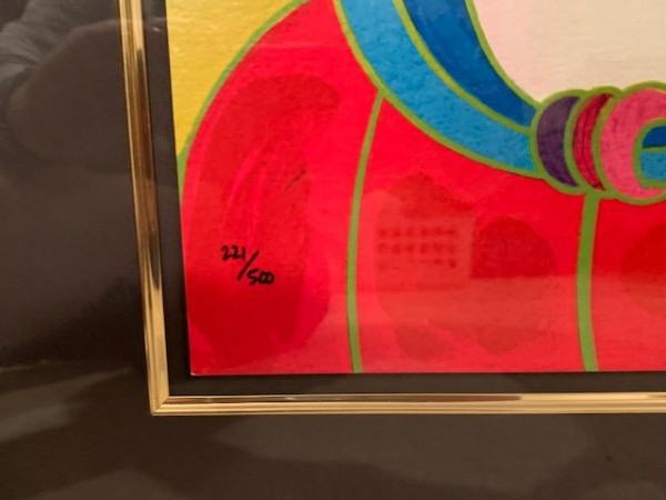 """""""Snow White"""" Serigraph from the Disney Commemorative Suite by Peter Max"""
