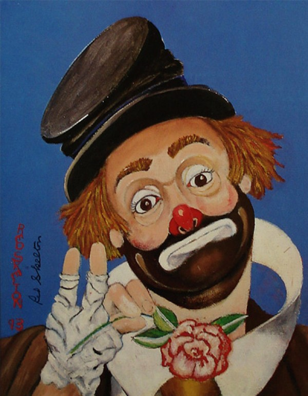 """No Place to Go"" Serigraph/Canvas by Red Skelton"