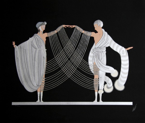 """Marriage Dance"" from the Love & Passion Suite by Erte"