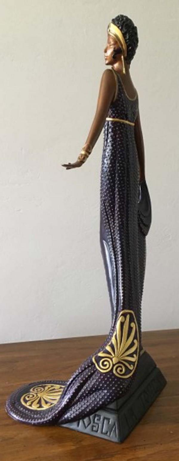 "Erte ""La Tosca"" Bronze Sculpture"