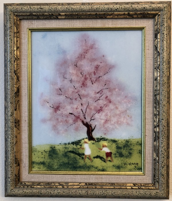 """Spring"" From the ""Four Seasons"" Porcelain prints by Max Karp"