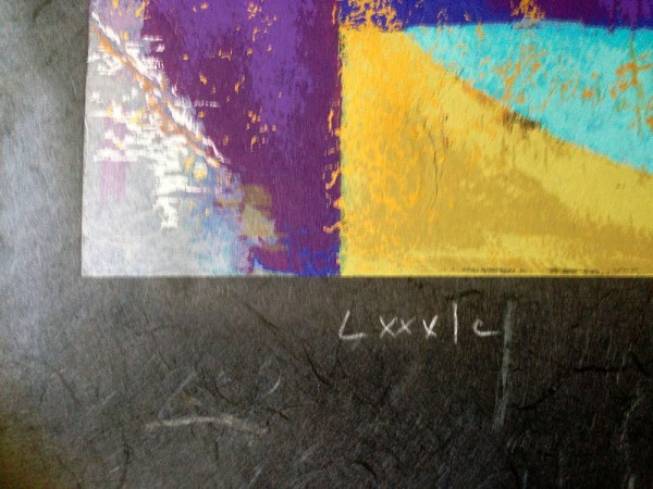 """Colour my World"" 1988"