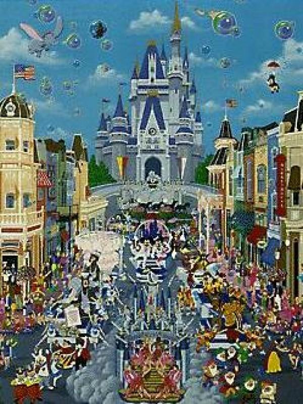 """Disney World"" - 15th Anniversary""  by Melanie Taylor Kent"
