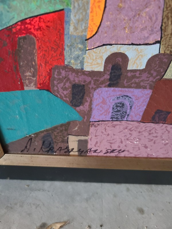 Anatole Krasnyansky bluebird limited edition out of 150 paintojg