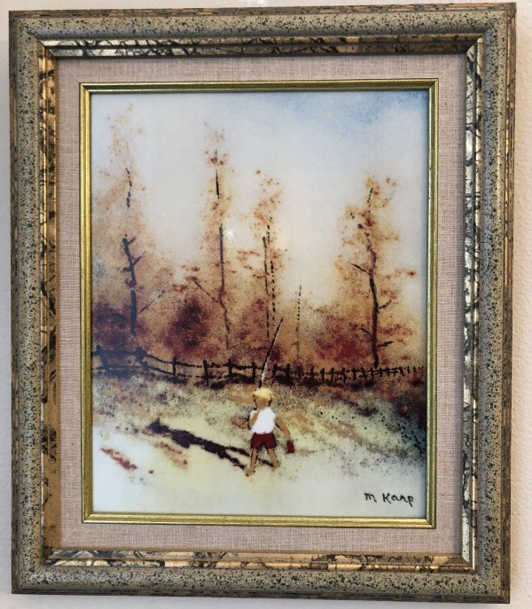 """""""Fall"""" from the """"Four Seasons"""" Porcelain prints by Max Karp"""