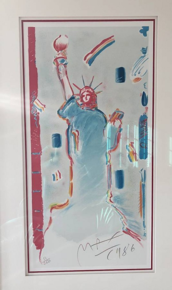 """Statue of Liberty 1986"" Lithograph by Peter Max"