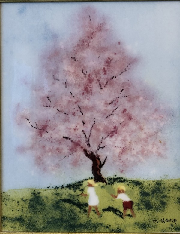"""""""Spring"""" from the """"Four Seasons"""" Porcelain prints by Max Karp"""