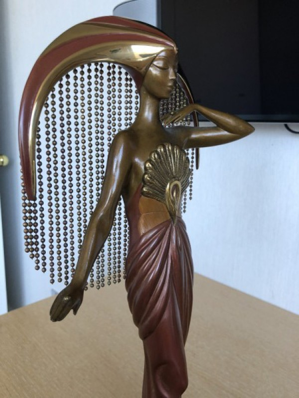 Le Soleil Bronze Sculpture by Erte