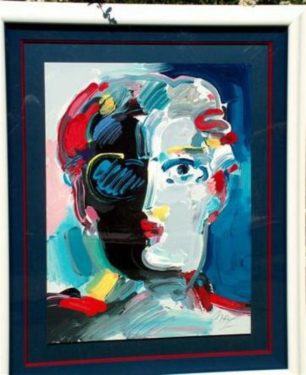 """Fauve"" Framed Serigraph/Arches Paper by Peter Max"