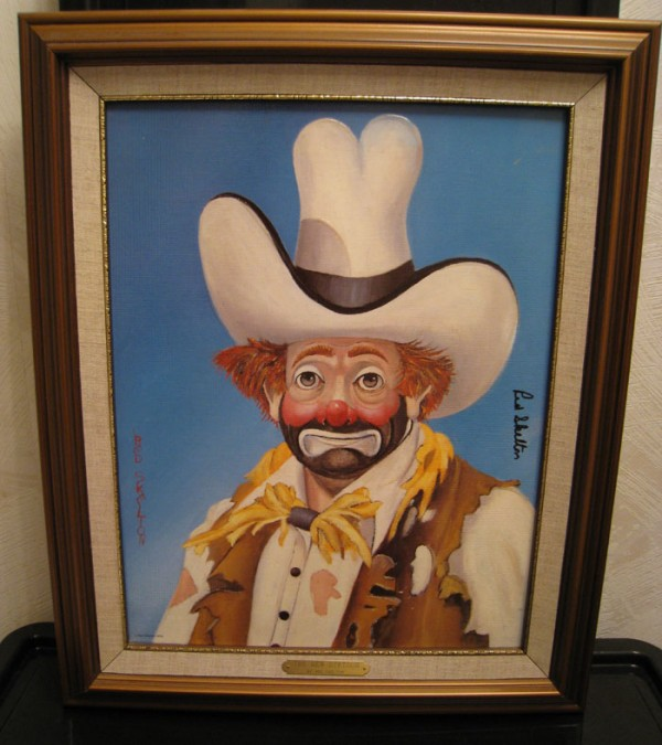 """The New Stetson"" Framed Serigraph by Red Skelton"