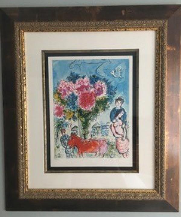 Marc Chagall Personnages Fantastiques Lithograph
