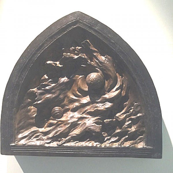 """Creation of Night"" from the ""Ex Nihilo Creation Series Maquettes Bronze Sculptures by Frederick Hart"