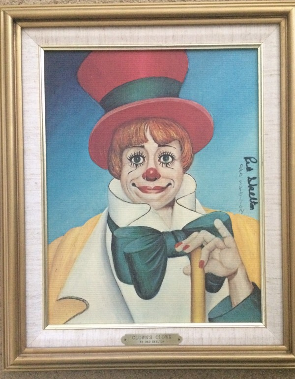 """""""Clown's Clown"""" Serigraph on Canvas by Red Skelton"""