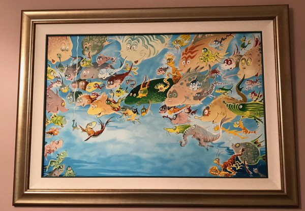 """""""A Plethora of Fish"""" by Dr. Seuss"""