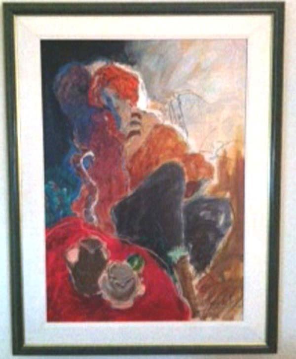 """""""Chantal"""" Framed Original Oil/Canvas by Roy Fairchild"""
