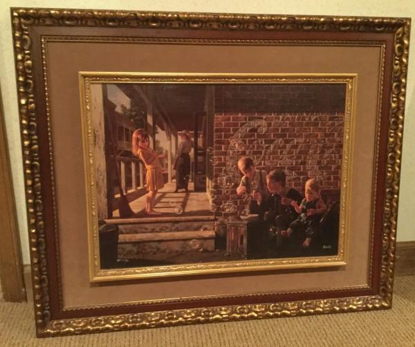 """A Fascination"" Canvas Transfer by Bob Byerley"