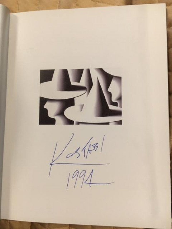 """""""Sadness Because the Video Rental Center Was Closed"""" book by Mark Kostabi"""