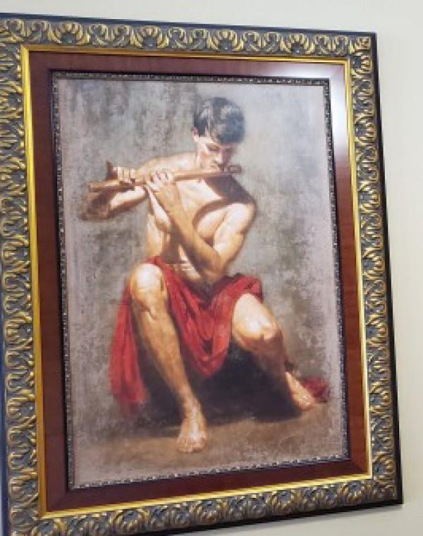 Tomasz rut Stanza Giclee on Canvas