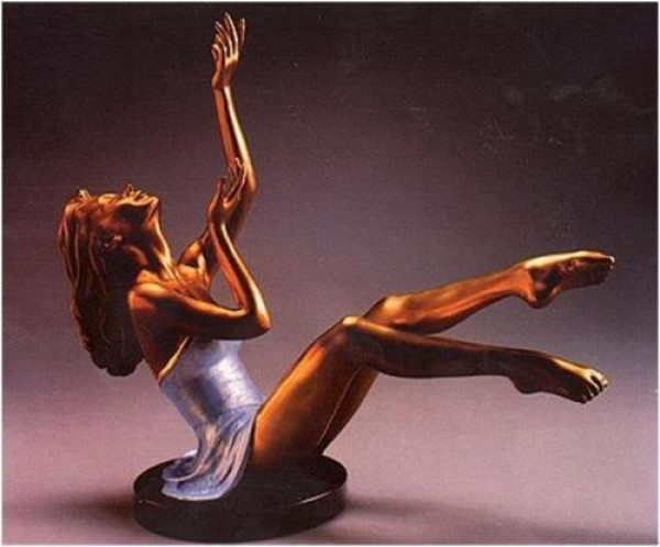 """Elation"" Bronze Sculpture by Ramon Parmenter"