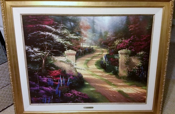 Spring Gate Limited Edition Print by Thomas Kincade