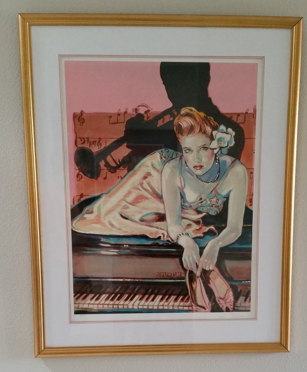 """Just For You"" Serigraph by Colleen Ross"