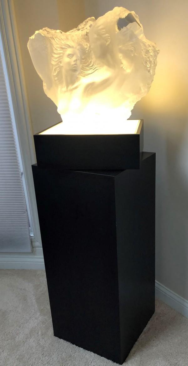 """Dream Fragment III"" Acrylic Sculpture by Michael Wilkinson"