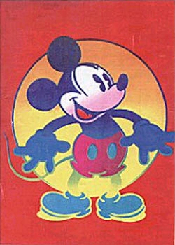 """Mickey"" from the "" Disney Mickey & Minnie"" Suite of 2 Serigraphs by Peter Max"