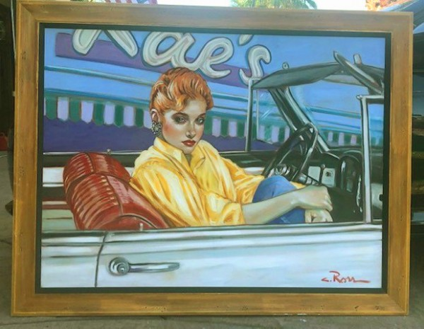 """""""Rae's"""" Original Oil on Canvas by Colleen Ross"""