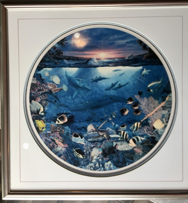 """""""Circle Of Life"""" Mixed Media Graphic with remarque by Christian Riese Lassen"""