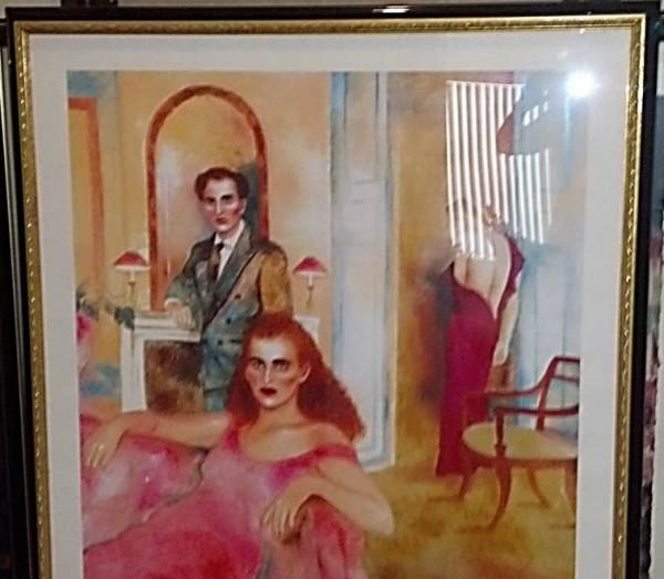 """Do You Still Remember?"" Framed Serigraph by Joanna Zjawinska"