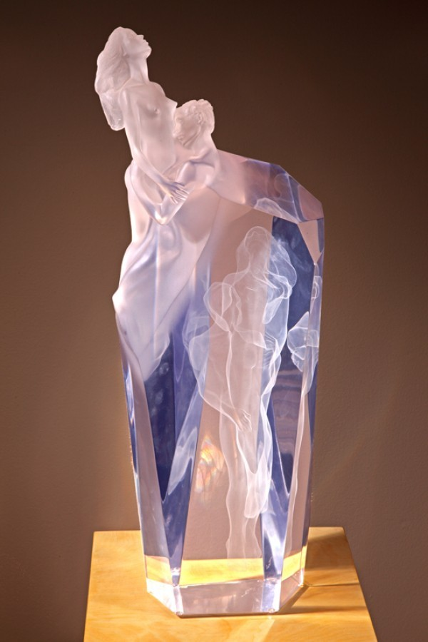 """""""Dance Of Life"""" Acrylic Sculpture by Frederick Hart"""
