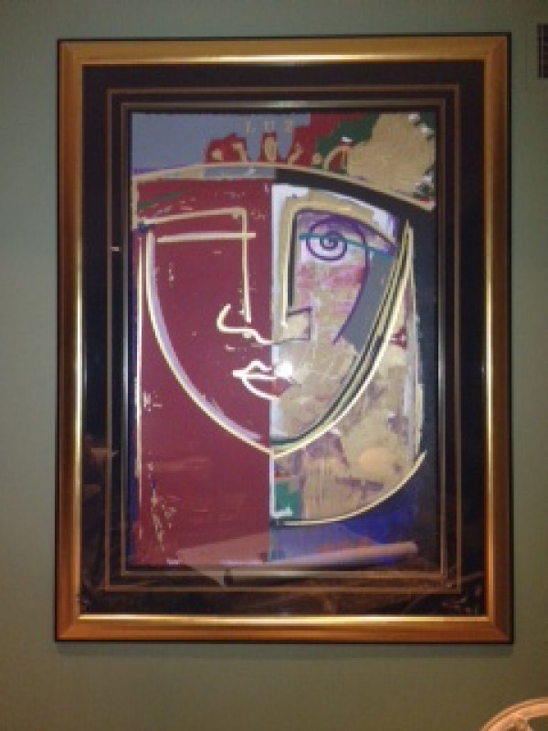 """""""Luz"""" Framed Original Multiple by Orlando, A.B."""