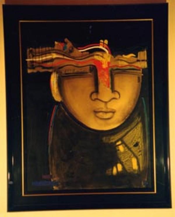 """Solidez"" Original Embellished Multiple Print by Orlando AB"