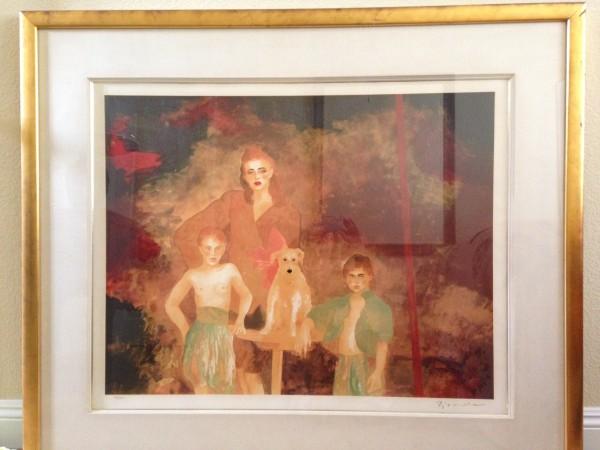 """The Magician"" Framed Serigraph by Joanna Zjawinska"
