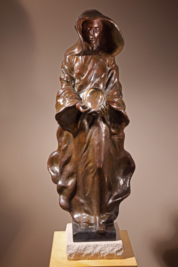 """""""The Source""""  1/2 Life Size Bronze Figure Signed Numbered Sculpture And Fountain by Frederick Hart"""