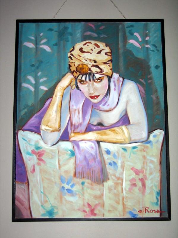 """""""Deja Vu"""" Original Oil/Canvas by Colleen Ross"""