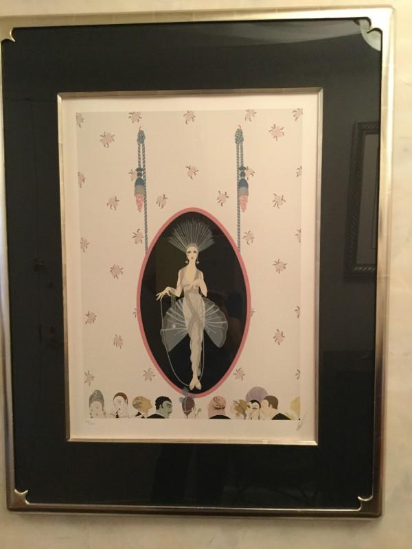 """The Portrait"" Framed Serigraph by Erte"