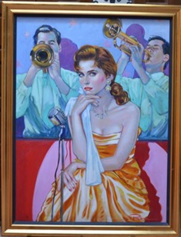 """""""Till We Meet Again"""" Original Oil on Canvas by Colleen Ross"""