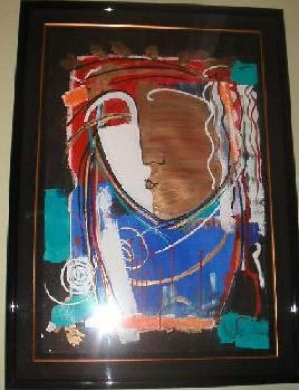 """Dusk of an Era"" Framed Original Multiple by Orlando, A.B."